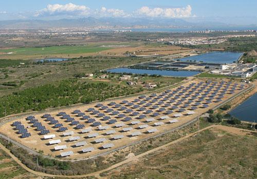 Panel energía fotovoltaica